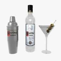 Ketel One Vodka Set