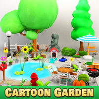Cartoon Garden
