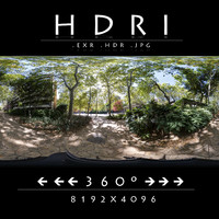 HDRI 2 PARK WITH HOTEL