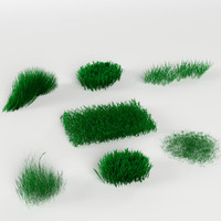 3d pack 7 grass weed