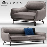 Esedra by Prospettive VENICE Sofa