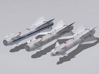 Kh-29 missiles family.