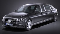 Mercedes S600 Pullman Maybach Guard 2018