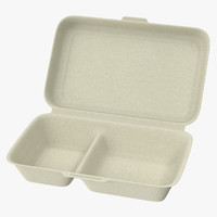 Takeout Container 02 Open
