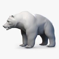 Bear Grizzly base mesh