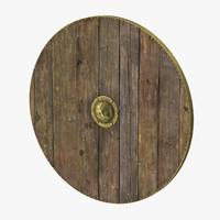 Medieval Wood Shield