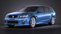 Holden VE II Commodore Sportwagon SSV 2013