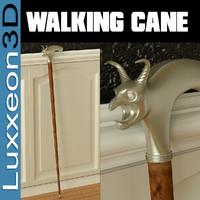ornate walking cane max free
