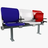 Stadium seat Plastic