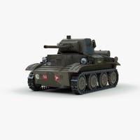 A 17 Tetrarch Tank