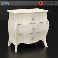 Diva Bedside Table