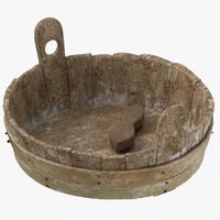 Medieval Wash Tub 01