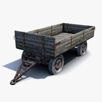 Russian Village Cart