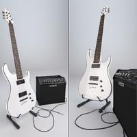 Guitar cort kx5 + amp line 6 spider IV 15