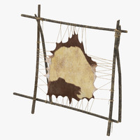 Leather Tanning Rack
