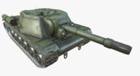 SU-152 (HD,Low Poly,PBR,+PSD)