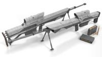 Sci fi sniper rifle