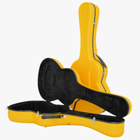 Visesnut Guitar Case Open 01