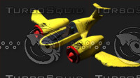 Cat-Fighter Jet plane 3D
