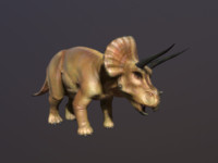 Triceratops (Low Poly)
