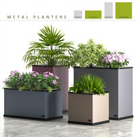 planter box metal