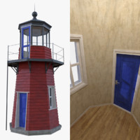 Lighthouse one with interior full