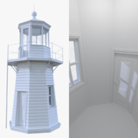 Lighthouse one with interior