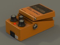 Boss guitar effects pedal