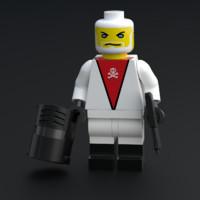 Baron Ironblood -  lego minifigure