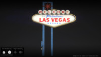 las vegas sign fbx