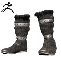 Fur Boots Zbrush
