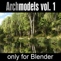 Archmodels for Blender vol. 1