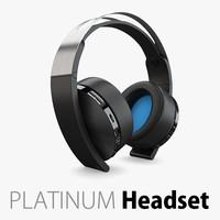 Sony Platinum Headset Wireless