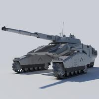 futuristic tank concept