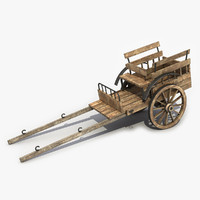 Old Wooden Cart 6