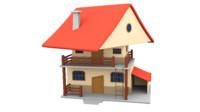 Cartoon House (2)