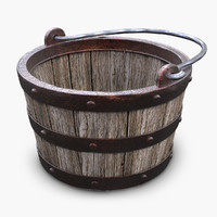 Wooden Medieval Bucket