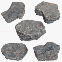 Stone Debris Piece Collection