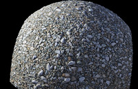 4k Small rocks-Tileable 3d Scan