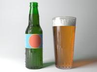 Beer Bottle & Pint Glass