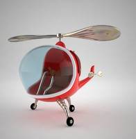 Cartoon Helicopter
