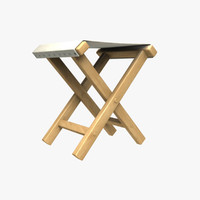 Civil War Camp Stool