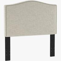 ML1827 Selma Nailhead Upholstered Headboard