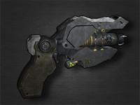 Sci fi handgun