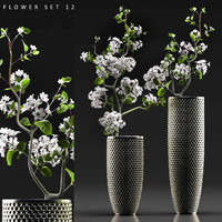 flower vase set 12