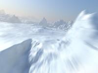Arctic Snow Landscape