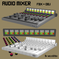 Audio Mixer FBX_OBJ