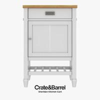Crate & Barre - Sheridan Kitchen Cart