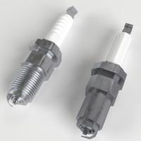 levels spark plug 3d 3ds