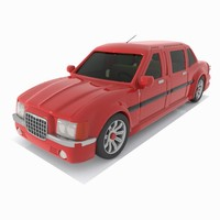 Toon Sedan Car